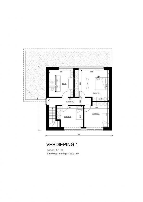 Ob modern plat dak bouwinfo - Moderne verdieping ...
