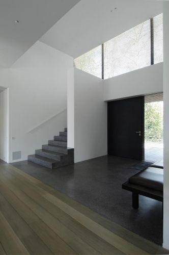 Inkom rechstreeks naar leefruimte toe bouwinfo - Hal ingang design huis ...