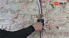 Kabels trekken en in inbouwdoos steken