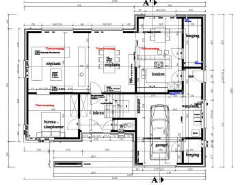 Plan moderne ob bouwinfo - Plan indoor moderne woning ...