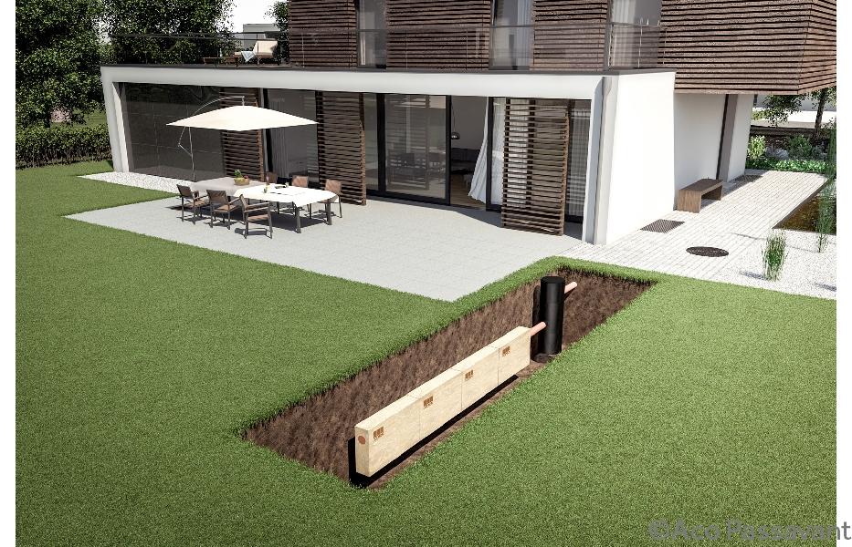 Anders omgaan met regenwater in de tuin bouwinfo for Huis in tuin voor ouders