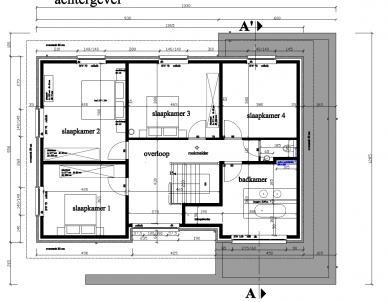 Plan moderne ob bouwinfo for Grondplannen woningen