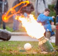 Carbidschieten : de explosie