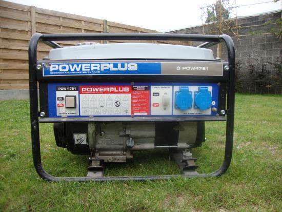 te koop generator Powerplus POW 4761   Bouwinfo