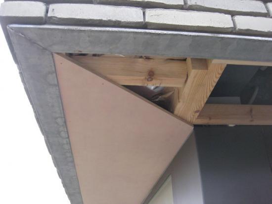 Materiaal plafond carport