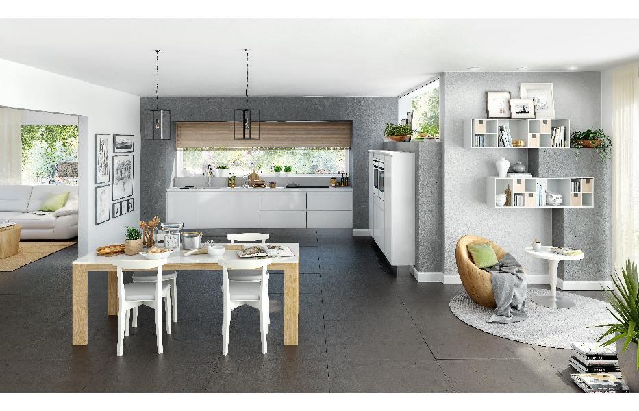 Een gesloten halfopen of open keuken een vergelijking bouwinfo - Hoe dicht een open keuken ...