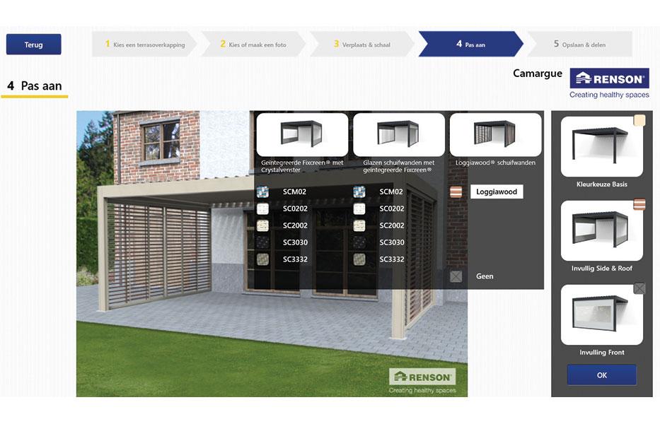 Stel zelf uw eigen terrasoverkapping samen bouwinfo