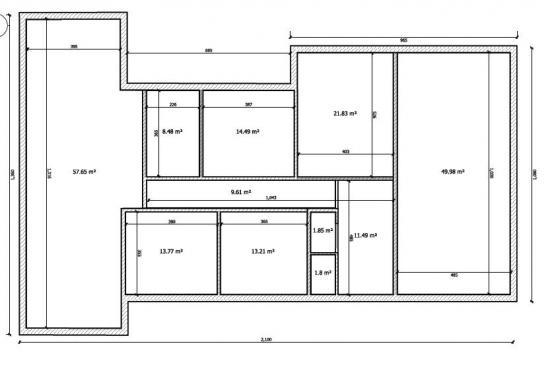 Renovatie uitbreiding ob 21x10 bouwinfo for Vloerplan maken