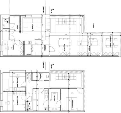 Moderne hob 7m breedte plat dak en veel glas bouwinfo - Plannen badkamer m ...