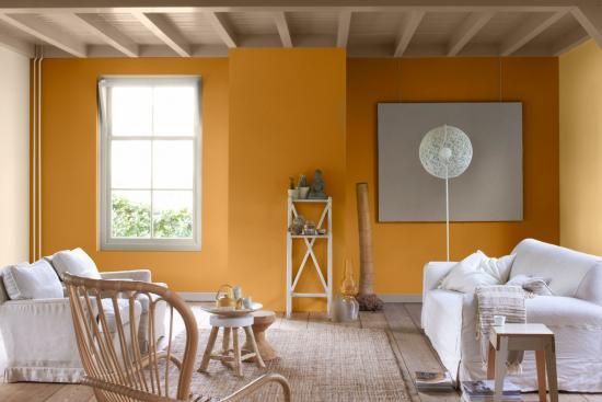 Welke verfkleur muren living bij donkerbruine koloniale for Vol interieur argentine