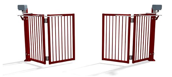 rondom het huis - afsluitingen - Faldivia snelsluitende poort