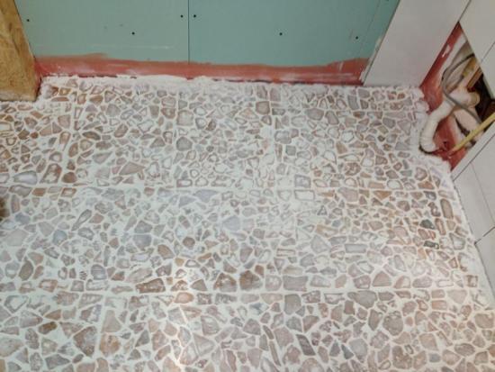 pebble vloer badkamer – devolonter, Badkamer