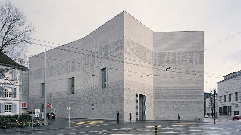"Extension building to ""Kunstmuseum Basel""  in Basel/Switzerland - Rory Gardiner - Christ & Gantenbein, Switzerland"