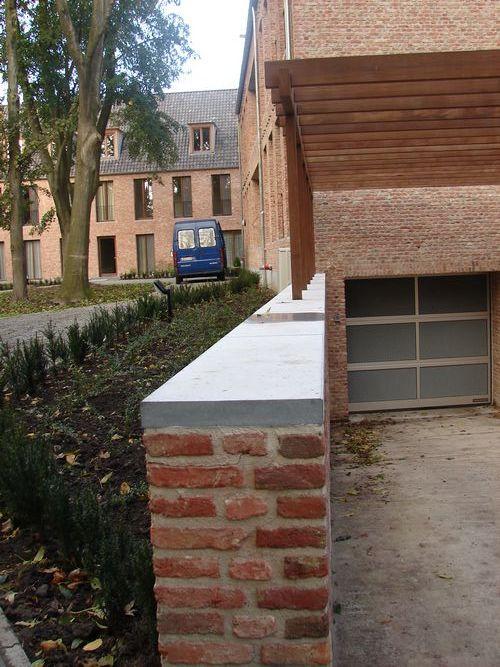 Deksteen op tuin muurtjes bouwinfo - Muur steen duidelijk ...