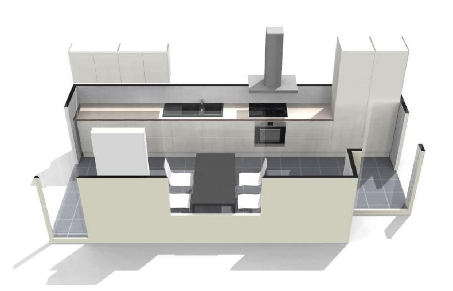 Keukenplan opstellen hoe begin ik er aan bouwinfo - Modern keukenplan ...