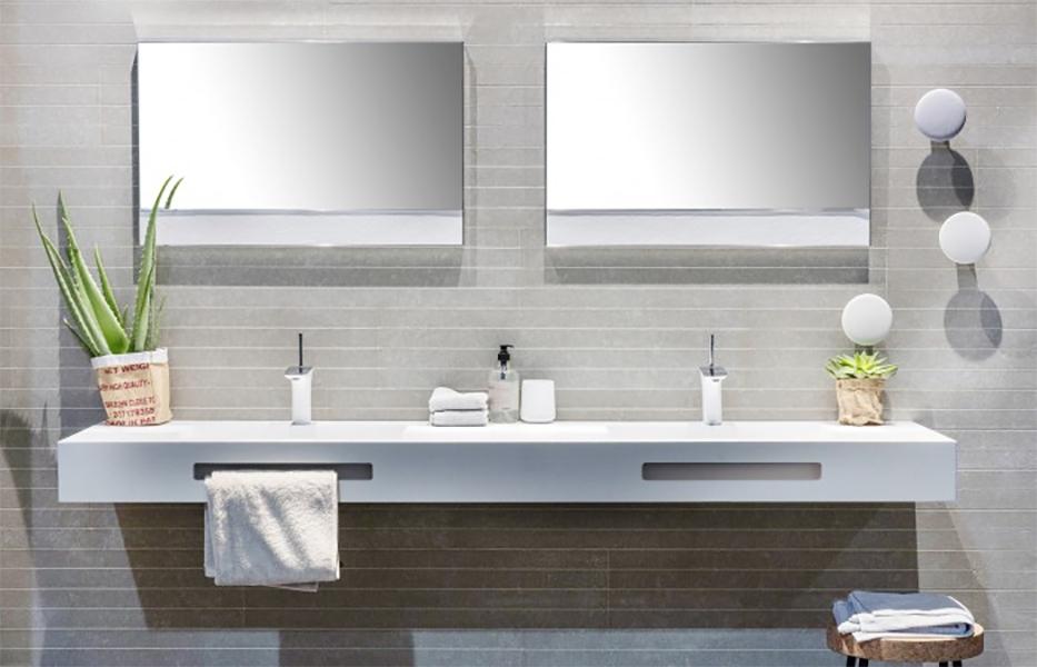 Met kurk naar een hoger niveau in de badkamer bouwinfo - Winkelruimte met een badkamer ...