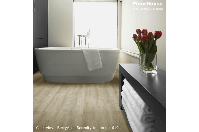 Vloeren in badkamers of andere vochtige ruimtes.   Bouwinfo