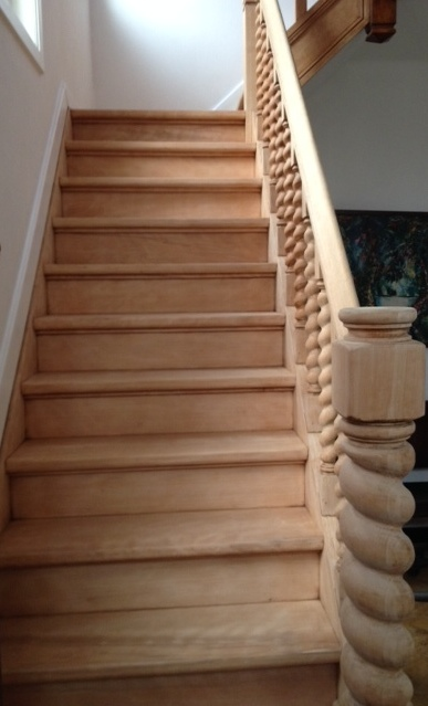 Beuken trap opnieuw behandelen bouwinfo for Houten trap behandelen