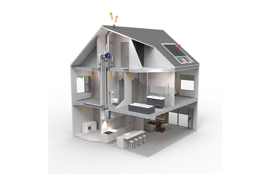 Ventilator Voor Badkamer ~ Bereken zelf het EPB verplichte Ventilatiedebiet  Bouwinfo