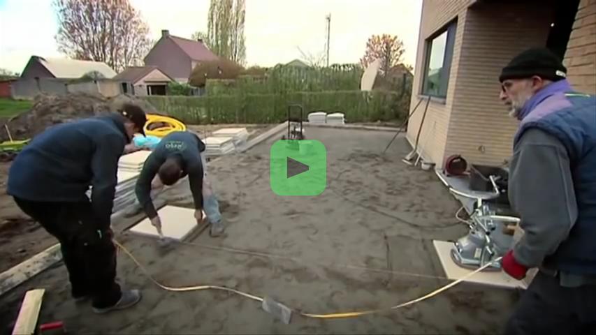 Hoe zelf een terras aanleggen bouwinfo - Hoe amenager tuin ...