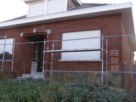 Voegkleur kiezen 3 opties bouwinfo for Huis voor na exterieur renovaties