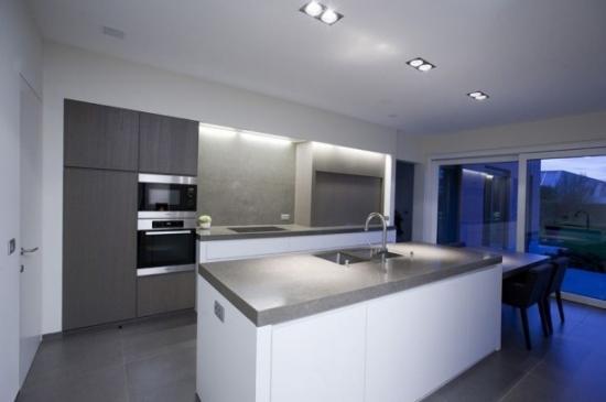 Witte Keuken Met Grijs Werkblad : Re: Verlichting keuken Re: Verlichting keuken