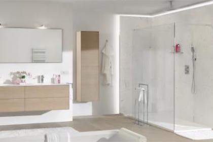De elektrische installatie in badkamers en doucheruimtes for Installatie badkamer