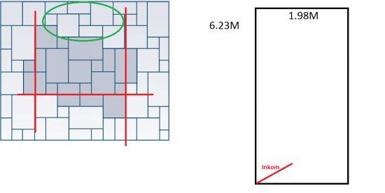 Vloertegels patroon leggen tegelvloer verbouwkosten - Tegelvloer patroon ...
