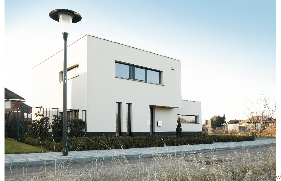 Crepi ideaal om van een oude gevel een nieuwe te maken bouwinfo - Moderne huis gevel ...