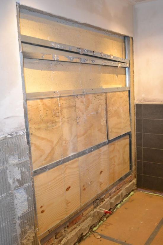 gyprocwand in badkamer | Bouwinfo
