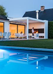 Rondom het huis - Buigebouwen - Renson Camargue terrasoverkapping