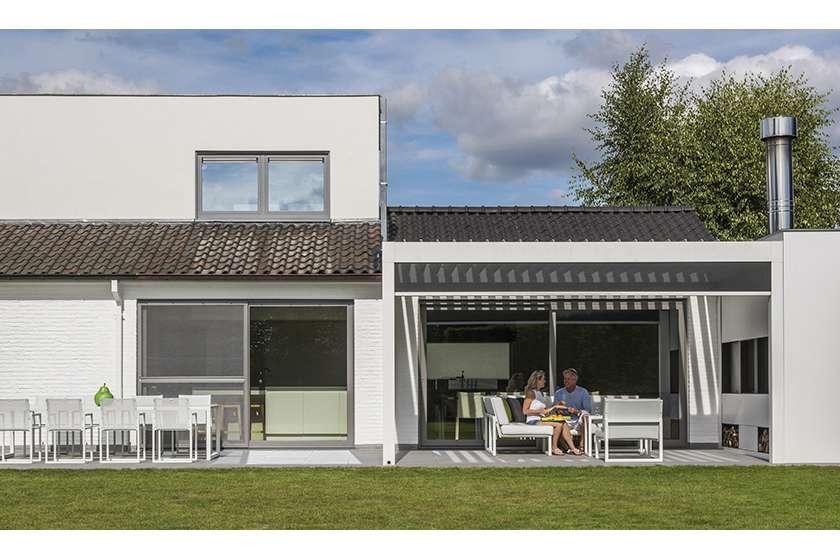Winter en zomer genieten van je terras: zo kan het! bouwinfo