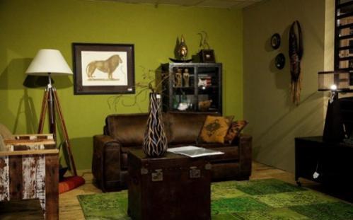 Bruine Meubels Combineren.Welke Verfkleur Muren Living Bij Donkerbruine Koloniale