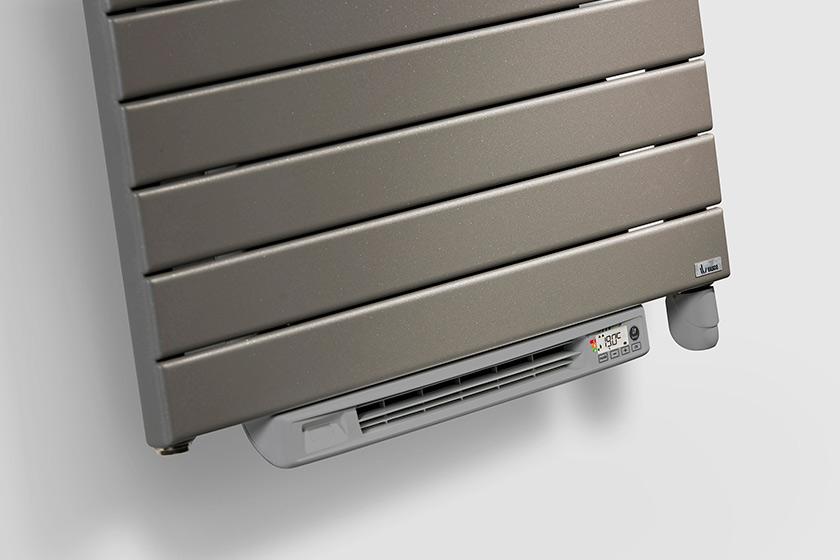 Gamma badkamer verwarming: badkamer straalkachel zilvergrijs w