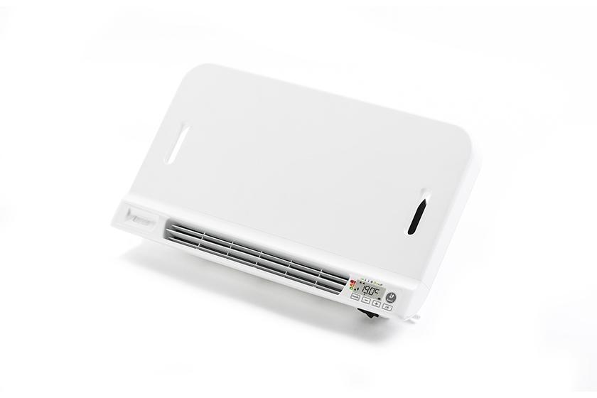 Elektrische Wandverwarming Badkamer : Elektrische badkamerradiatoren met geïntegreerde blower zijn