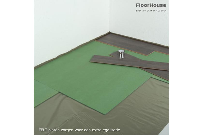 Een geschikte ondervloer voor laminaat click vinyl of kurk vinden