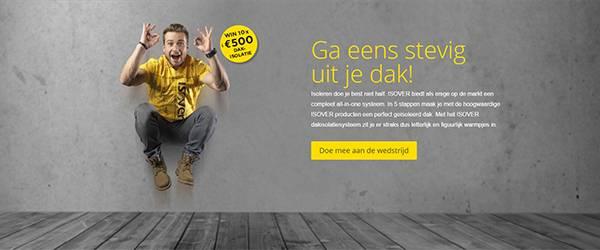 Win 10x 500 euro isolatie!
