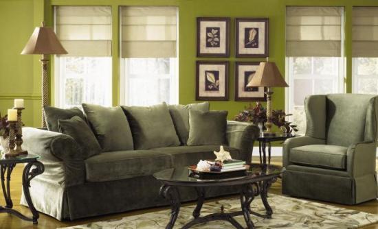 welke verfkleur muren living bij donkerbruine (koloniale) meubels ...
